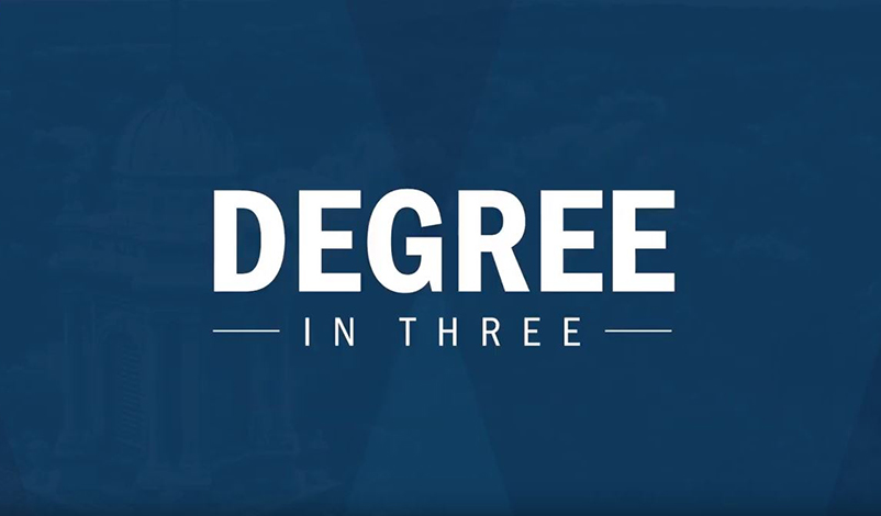 Degree in Three Video